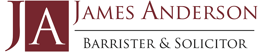 James Anderson, Barrister & Solicitor